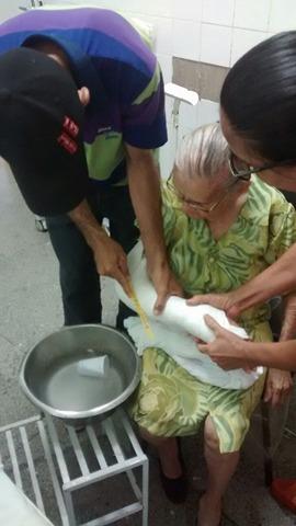 Família de idosa de 86 anos denuncia descaso no hospital regional de Oeiras 2
